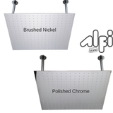 "Alfi Brand RAIN24S 24"" Square Solid Stainless Steel Ultra Thin Rain Shower Head"