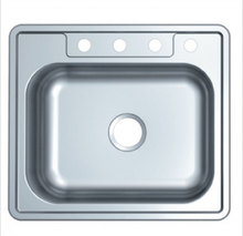 Buy Single Blow Stainless Steel Topmount Sink - Zen Tap Sinks - 1
