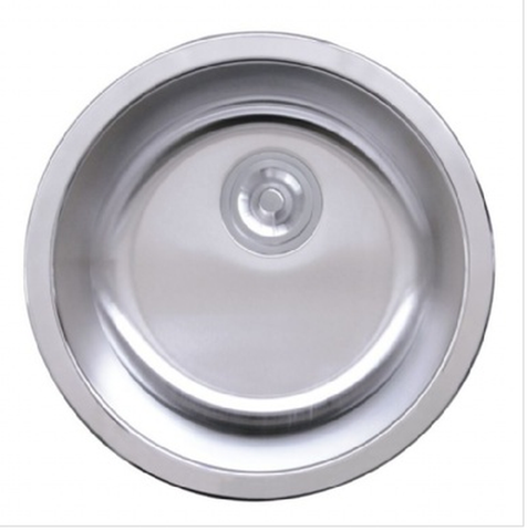 Buy Single Round Bowl Stainless Stain Bar Sink - Zen Tap Sinks - 1