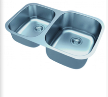Buy Online Double Bowl Kitchen Sink (Offset) - Zen Tap Sinks - 1