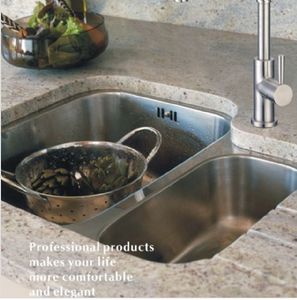 Buy Double Bowl Kitchen Sink (Offset) - Zen Tap Sinks - 2