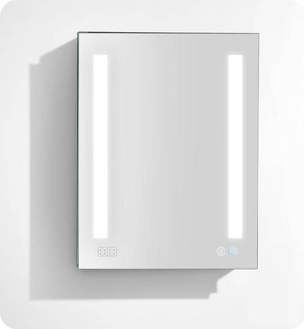 signature royale medicine cabinet with interior led light with sensor