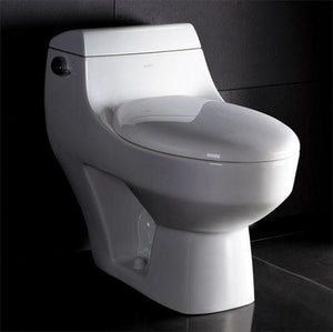 BUY EAGO TB108 One Piece Modern High Efficiency Low Flush Eco Friendly Toilet - Zen Tap Sinks - 2