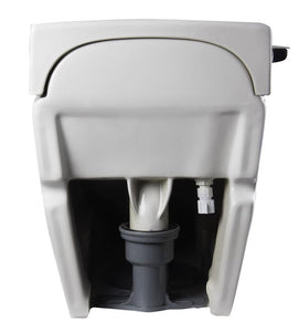 BUY EAGO TB340 White One Piece Ultra Low Single Flush Eco-Friendly Toilet - Zen Tap Sinks - 5