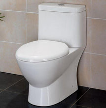 BUY EAGO TB346 Elongated One Piece Dual High Efficiency Low Flush White Toilet - Zen Tap Sinks - 7