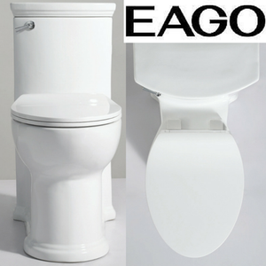 EAGO TB364 ADA Compliant High Efficiency One Piece Single Flush Toilet