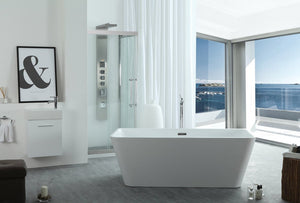 Serenity 67″ Freestanding Soaking Bathtub