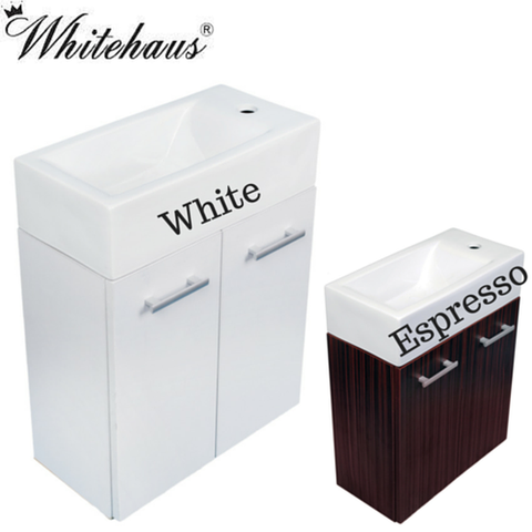 Buy Whitehaus WH114SCB Wall Mount Vanity