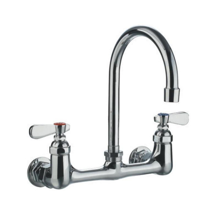 BUY Whitehaus WHFS9814-P4-C Heavy Duty Utility Faucet with a Gooseneck Spout - Zen Tap Sinks