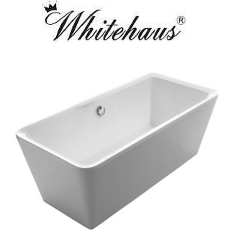 Buy Online Whitehaus WHHQ170BATH Bathhaus Cubic Style Double Ended Freestanding Bathtub