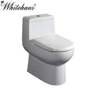 Whitehaus WHMFL3351-EB Magic Dual Siphonic Flush One Piece Toilet