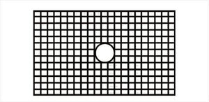 Whitehaus WHNCMAP3321G Stainless Steel Sink Protection Grid for WHNCMAP3321