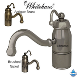 Whitehaus 3-3163-C Beluga Traditional Deck Mounted Prep Kitchen Faucet