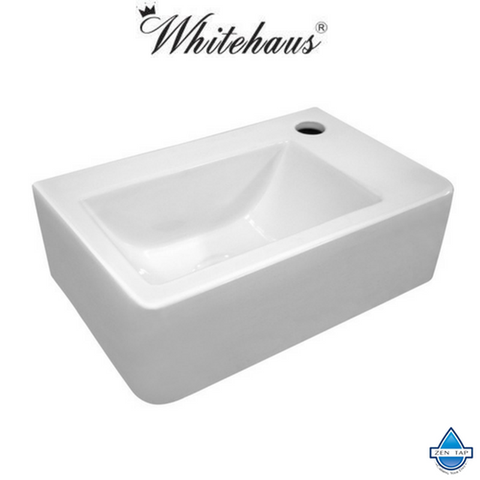 Whitehaus WH-1410 Wall Mount Porcelain Basin
