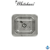 Whitehaus WH693ABL 14 3/4″ Rectangular Drop-in Sink with A Smooth Surface