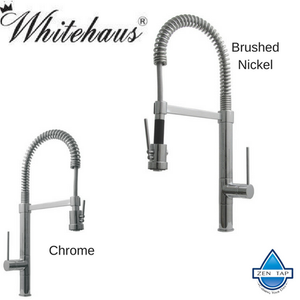 Whitehaus WHLX78557S 9 1/2″ Metrohaus Commercial Single Hole Faucet