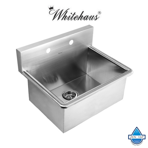"WHNC2520 25"" Noah Stainless Steel Laundry / Utility Sink"
