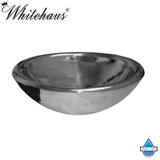 Whitehaus WHNVE217 Stainless Steel Noah'S Double Layer Above Mount Vessel Basin