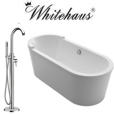 Whitehaus WHVT180BATH/WHT7369S Set
