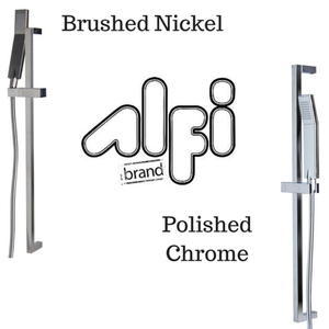 Alfi Brand AB7606 Sliding Rail Hand Shower Set in Polished or Brushed