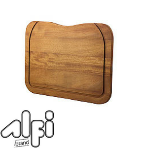 Alfi Brand AB80WCB Rectangular Wood Cutting Board with Hole for AB3520DI
