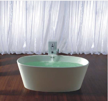 Buy Online Controlbrand True Solid Surface Soaking Tub - Vinyasa Matte [BW4056MW] - Zen Tap Sinks - 1