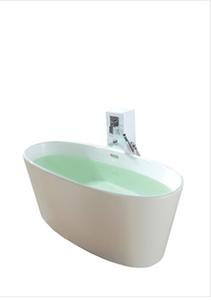 Buy Online Controlbrand True Solid Surface Soaking Tub - Vinyasa Matte [BW4056MW] - Zen Tap Sinks - 3