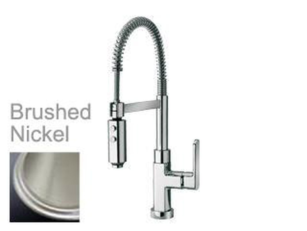 Latoscana Novello Single Handle Kitchen Faucet with Spring Spout ...