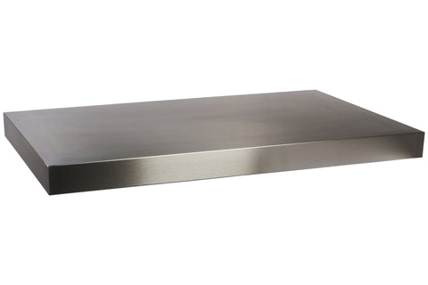Stainless Steel Servery Flat Top 1000mm