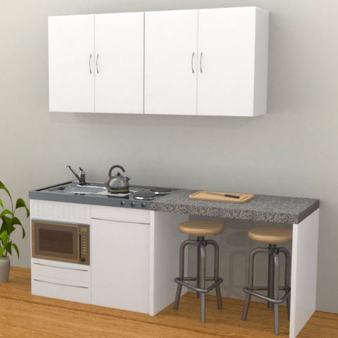 Top 28 compact kitchens nz flat pack kitchens kitset for Kitset kitchens