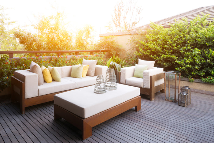 How to Clean Patio Furniture Using Steam