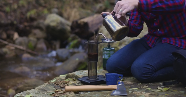Making Coffee Without A Camp Stove