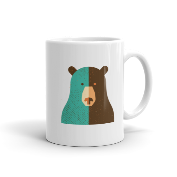 Black Bear Mug  100% Arabica Whole Bean Coffee Roasted Fresh Buy Online Flat Rate Shipping Free Shipping Over $35 United States USA Fast Shipping - Wake & Brew Coffee Co.