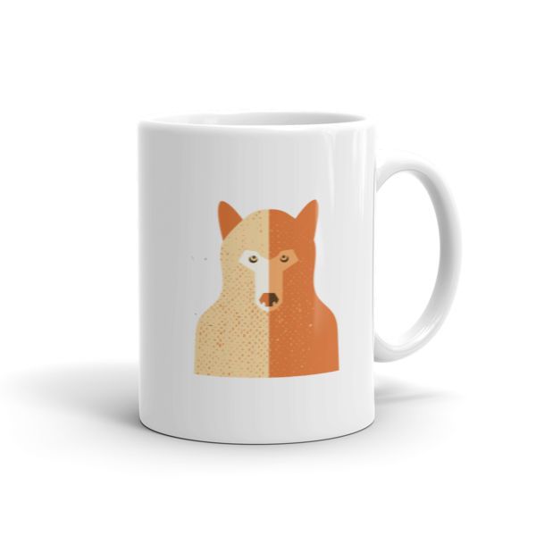Red Wolf Mug  100% Arabica Whole Bean Coffee Roasted Fresh Buy Online Flat Rate Shipping Free Shipping Over $35 United States USA Fast Shipping - Wake & Brew Coffee Co.