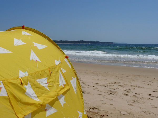 Pop-Up Beach Tent, Paper Planes - Shore and Sunshine - 5