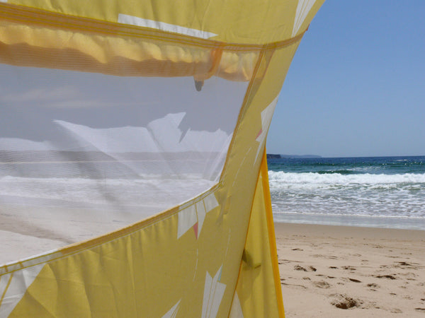 Pop-Up Beach Tent, Paper Planes - Shore and Sunshine - 11