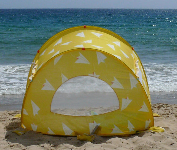 Pop-Up Beach Tent, Paper Planes - Shore and Sunshine - 2