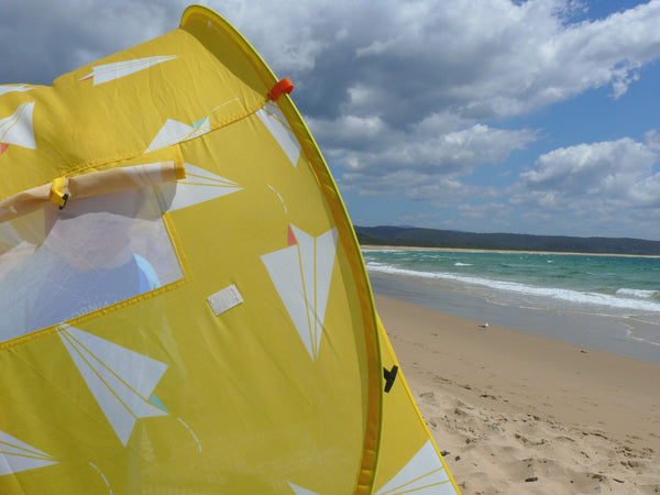 Pop-Up Beach Tent, Paper Planes - Shore and Sunshine - 6
