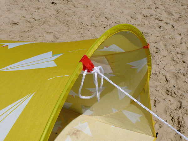 Pop-Up Beach Tent, Paper Planes - Shore and Sunshine - 8