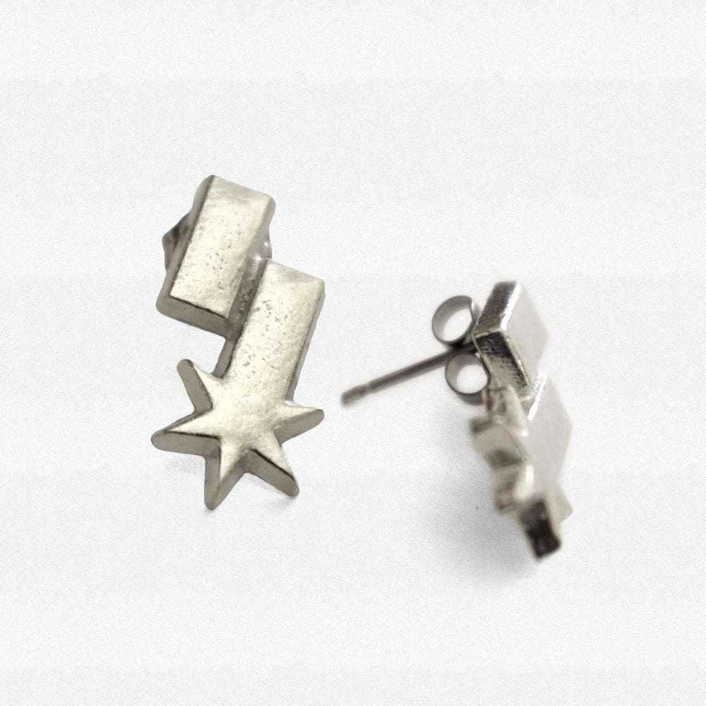 S-Star Stud Earrings