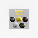 Native Tongue Button Pack