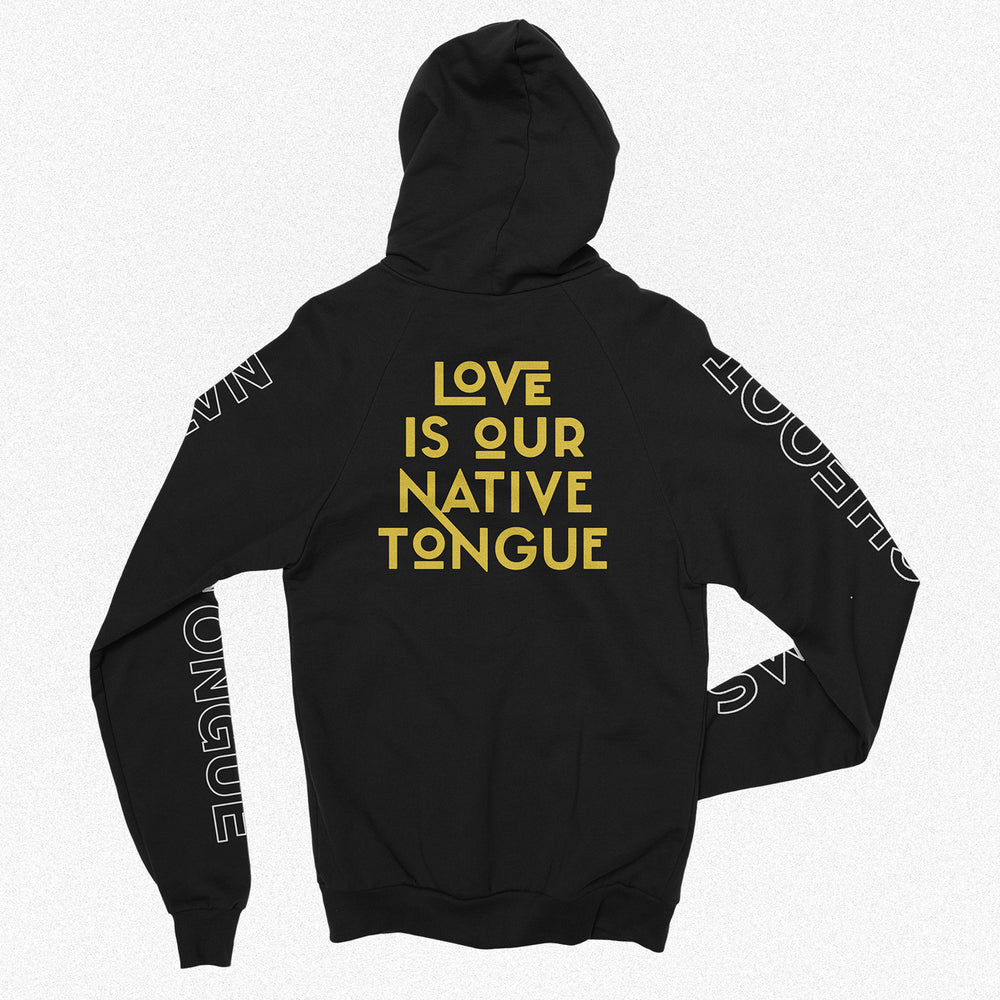 Native Tongue Zip Up Hoodie