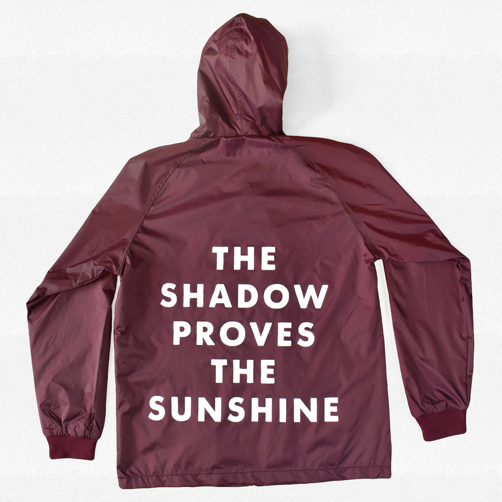The Shadow Proves the Sunshine Rain Jacket