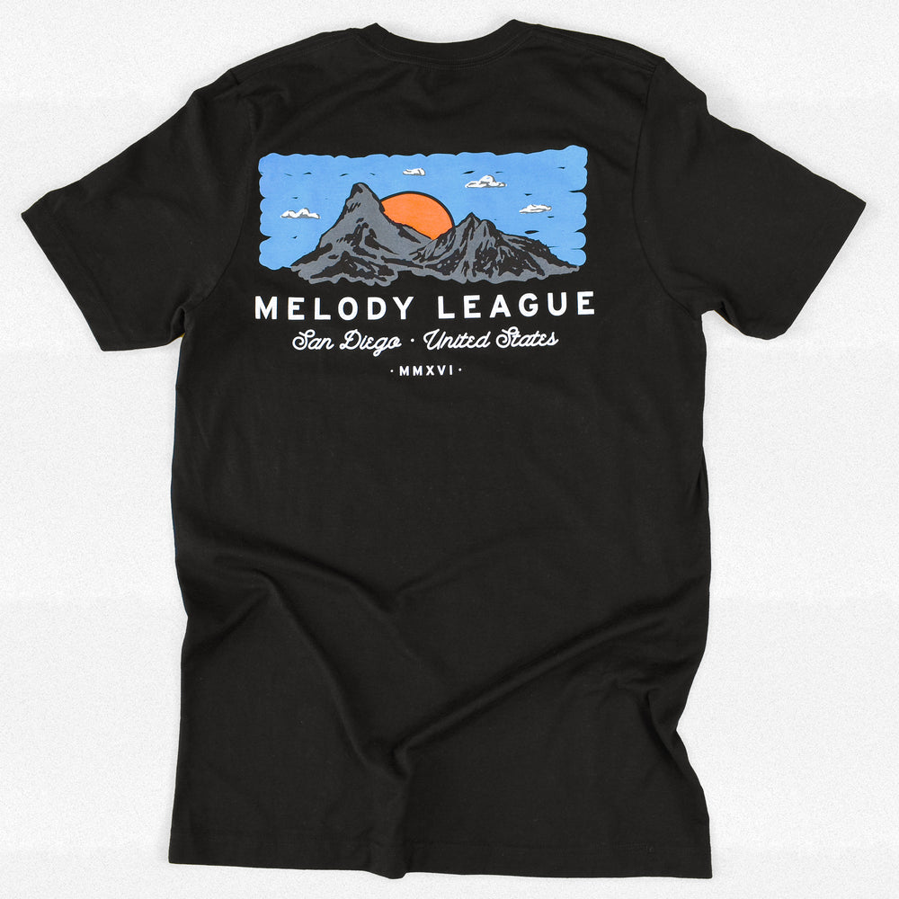 Melody League Summit T Black