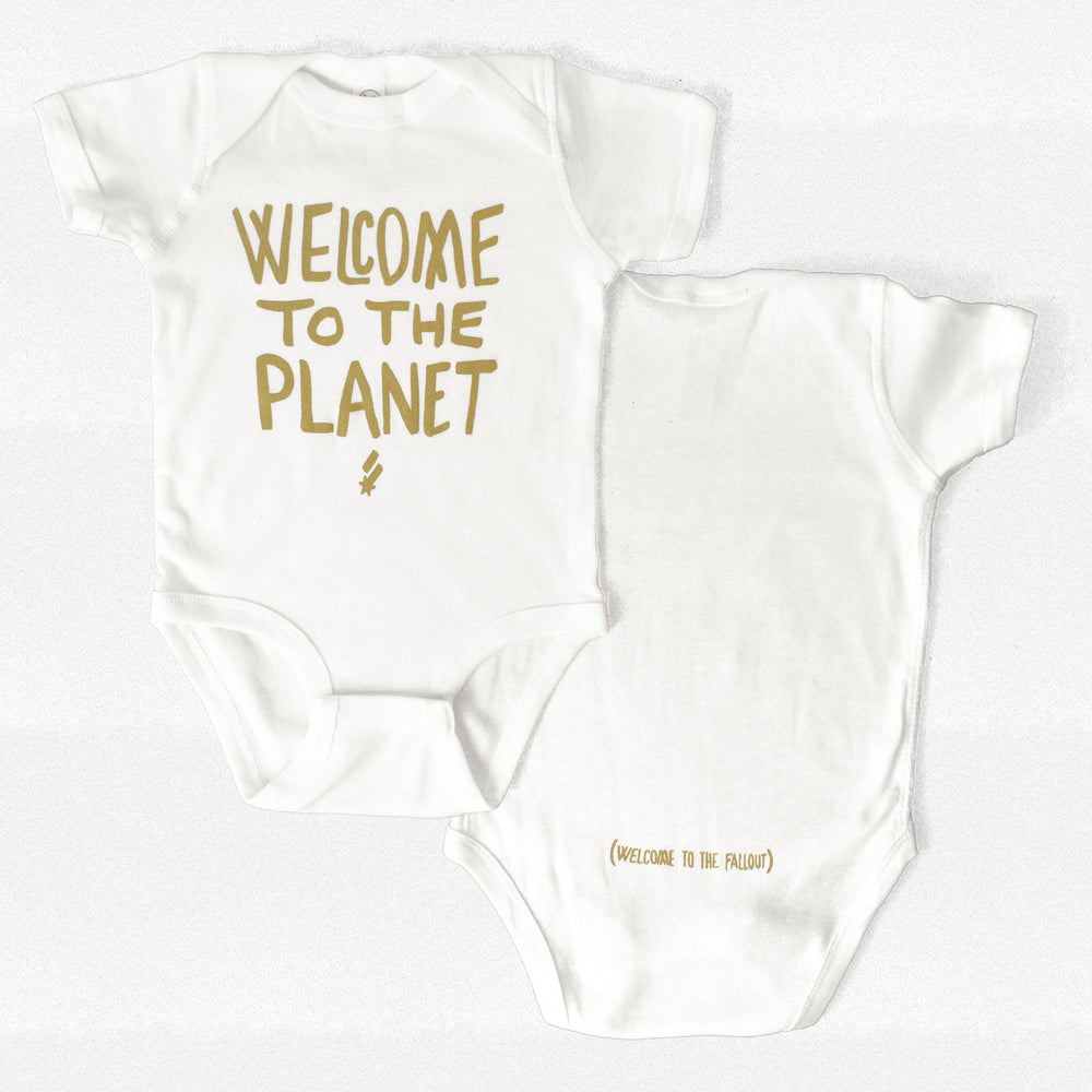 Welcome to the Planet Onesie