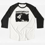 Where I Belong Flag Raglan - White
