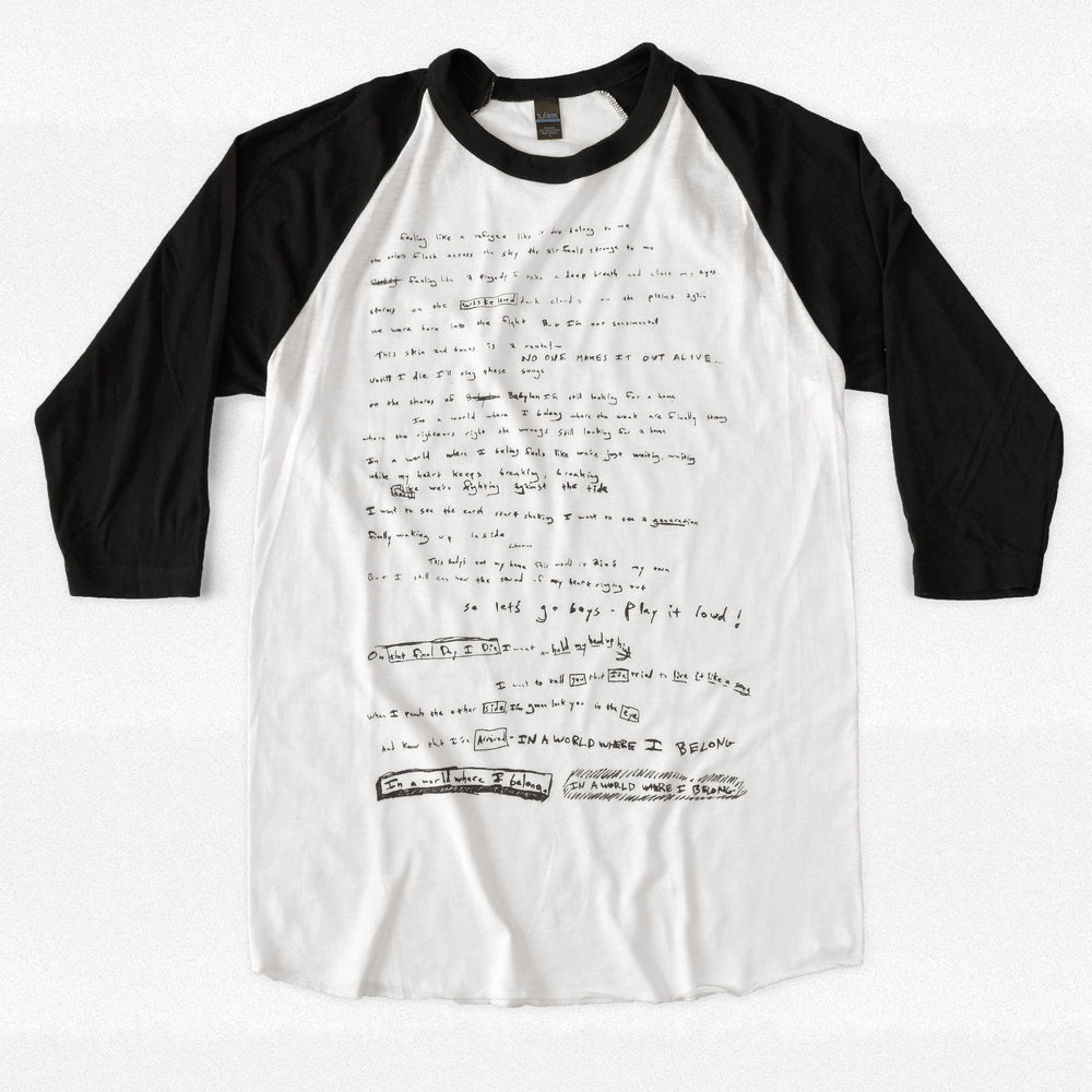 Where I Belong Lyrics Raglan