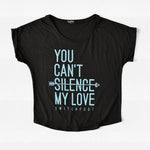 You Can't Silence My Love Scoop Neck