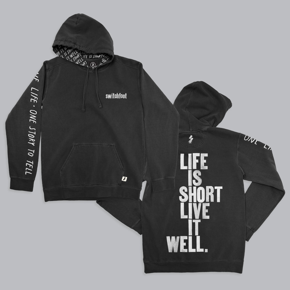 Live it Well Custom Hoodie