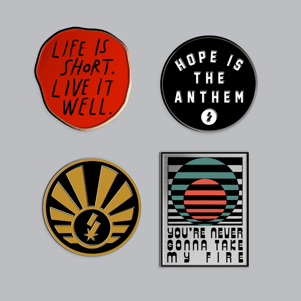 SF Collectors Enamel Pin Set